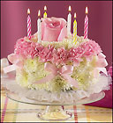 BIRTHDAY CAKE CELEBRATION Cottage Florist Lakeland Fl 33813 Premium Flowers lakeland