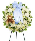 OPEN WREATH Cottage Florist Lakeland Fl 33813 Premium Flowers lakeland