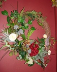 NATURAL BERRY WREATH Premier Flowers from Cottage Florist, Lakeland Fl 33813