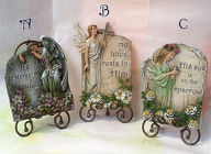 ANGEL PLAQUES Premier Flowers from Cottage Florist, Lakeland Fl 33813