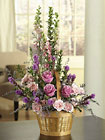 Luscious Lavender Hues Premier Flowers from Cottage Florist, Lakeland Fl 33813