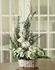 All Wrapped in White Cottage Florist Lakeland Fl 33813 Premium Flowers lakeland