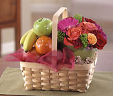 Fruit & Flower Basket Cottage Florist Lakeland Fl 33813 Premium Flowers lakeland