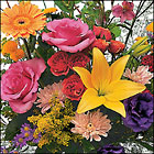Custom Designed Vase Arrangement Cottage Florist Lakeland Fl 33813 Premium Flowers lakeland