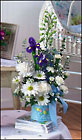 Baby Boy Novelty Bouquet Cottage Florist Lakeland Fl 33813 Premium Flowers lakeland