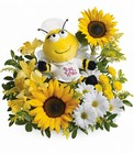 Bee Well Bouquet Cottage Florist Lakeland Fl 33813 Premium Flowers lakeland