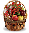 Health Nut Basket Cottage Florist Lakeland Fl 33813 Premium Flowers lakeland