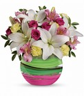 Paint It Pastel Bouquet Premier Flowers from Cottage Florist, Lakeland Fl 33813