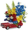 '65 Ford Mustang Bouquet  Cottage Florist Lakeland Fl 33813 Premium Flowers lakeland