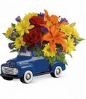 Vintage Ford Pickup Bouquet  Cottage Florist Lakeland Fl 33813 Premium Flowers lakeland