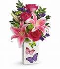 Brilliant Butterflies Bouquet Cottage Florist Lakeland Fl 33813 Premium Flowers lakeland