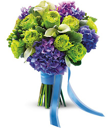 Luxe Lavender and Green Bouquet Cottage Florist Lakeland Fl 33813 Premium Flowers lakeland
