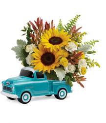 Chevy Pickup Bouquet Cottage Florist Lakeland Fl 33813 Premium Flowers lakeland