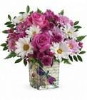 Wildflower In Flight Bouquet Cottage Florist Lakeland Fl 33813 Premium Flowers lakeland
