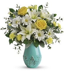 Aqua Dream Bouquet Cottage Florist Lakeland Fl 33813 Premium Flowers lakeland