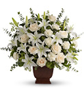 Loving Lilies and Roses Bouquet Cottage Florist Lakeland Fl 33813 Premium Flowers lakeland