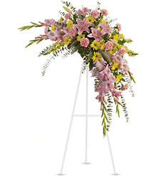 Sweet Solace Spray Cottage Florist Lakeland Fl 33813 Premium Flowers lakeland