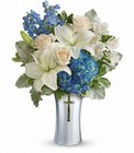 Skies Of Remembrance Bouquet Cottage Florist Lakeland Fl 33813 Premium Flowers lakeland