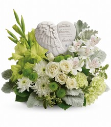 Hearts In Heaven Bouquet Cottage Florist Lakeland Fl 33813 Premium Flowers lakeland