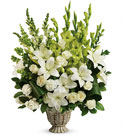 Clouds Of Heaven Bouquet Cottage Florist Lakeland Fl 33813 Premium Flowers lakeland