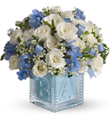 Baby's First Block - Blue Cottage Florist Lakeland Fl 33813 Premium Flowers lakeland