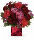 Teleflora's Ruby Rapture Bouquet Cottage Florist Lakeland Fl 33813 Premium Flowers lakeland
