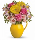 Sunny Day Pitcher Of Charm Cottage Florist Lakeland Fl 33813 Premium Flowers lakeland