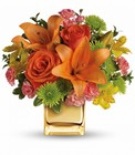 Tropical Punch Bouquet Cottage Florist Lakeland Fl 33813 Premium Flowers lakeland