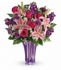 Luxurious Lavender Bouquet Cottage Florist Lakeland Fl 33813 Premium Flowers lakeland