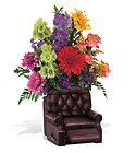 Teleflora's Barcalounger Bouquet Premier Flowers from Cottage Florist, Lakeland Fl 33813