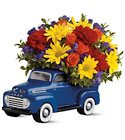 48 Ford Pickup Bouquet  Cottage Florist Lakeland Fl 33813 Premium Flowers lakeland