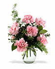Pink Notion Vase Cottage Florist Lakeland Fl 33813 Premium Flowers lakeland