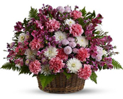 Garden Basket Blooms Premier Flowers from Cottage Florist, Lakeland Fl 33813