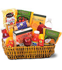 Healthy Gourmet Basket Cottage Florist Lakeland Fl 33813 Premium Flowers lakeland
