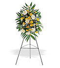 Yellow Dawn Spray Cottage Florist Lakeland Fl 33813 Premium Flowers lakeland