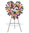 Loving Heart Tribute Cottage Florist Lakeland Fl 33813 Premium Flowers lakeland