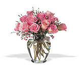 Pink Birthday Roses Cottage Florist Lakeland Fl 33813 Premium Flowers lakeland